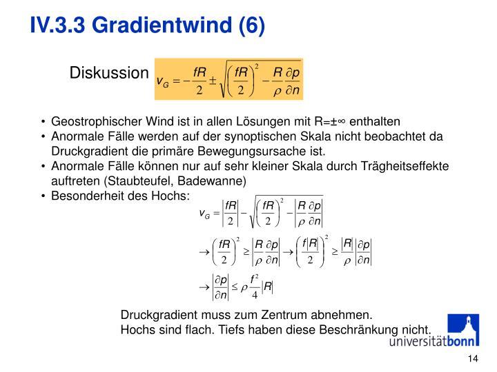 IV.3.3 Gradientwind (6)