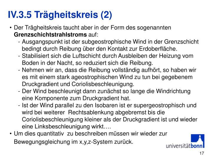 IV.3.5 Trägheitskreis (2)