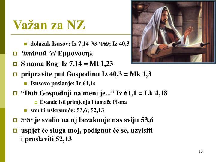 dolazak Isusov: Iz 7,14