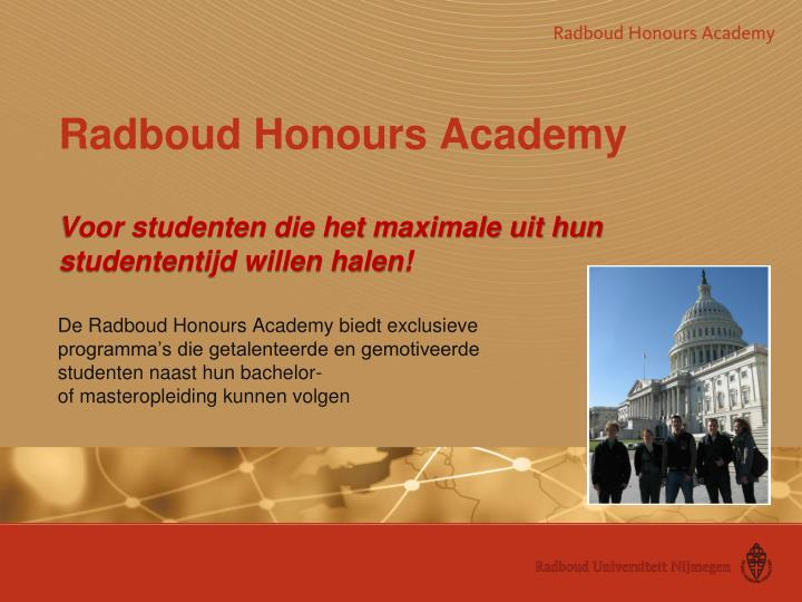Radboud Honours Academy