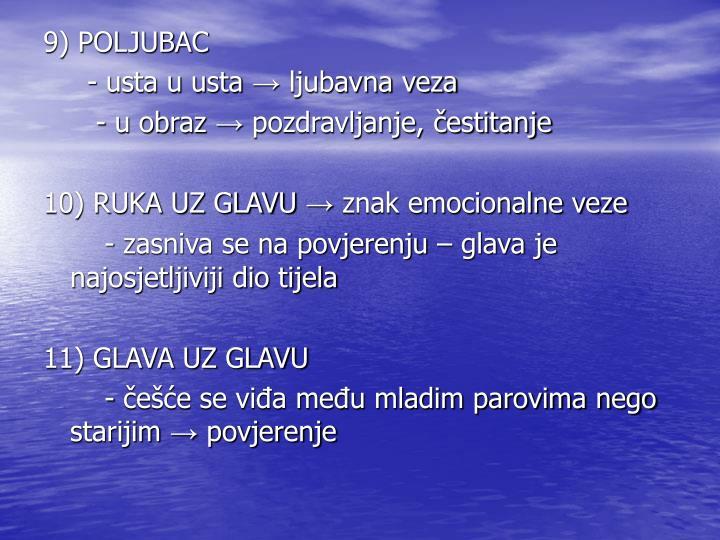 9) POLJUBAC