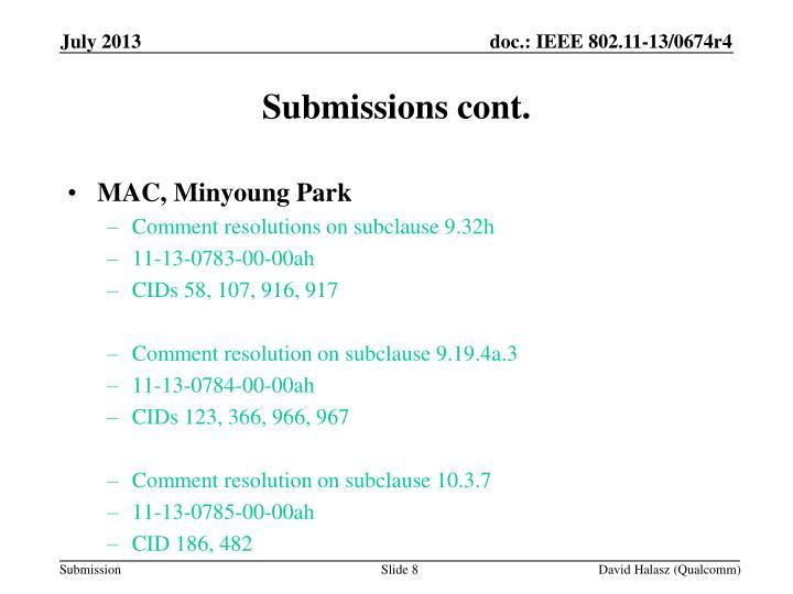 MAC, Minyoung Park
