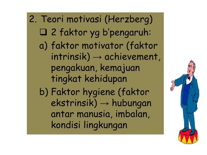 Teori motivasi (Herzberg)