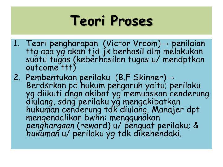 Teori Proses