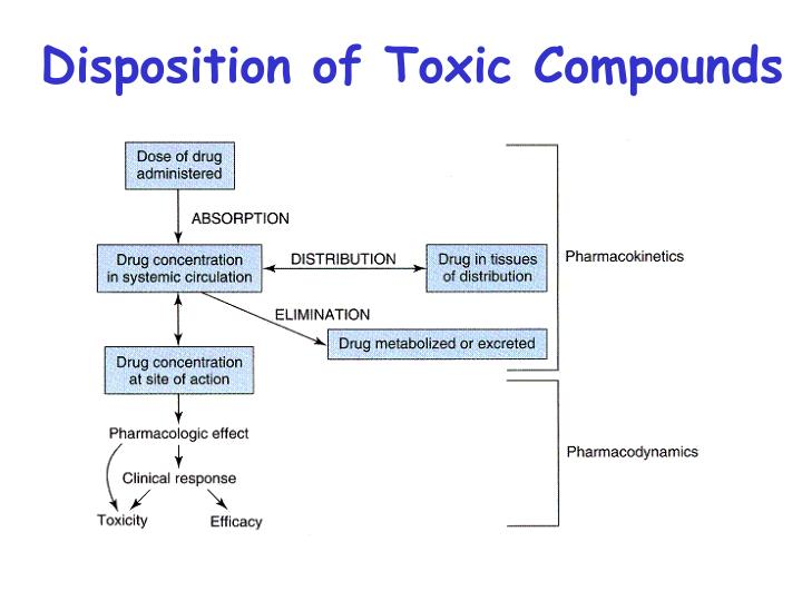 Disposition of Toxic Compounds