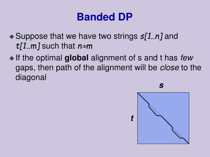 Banded DP