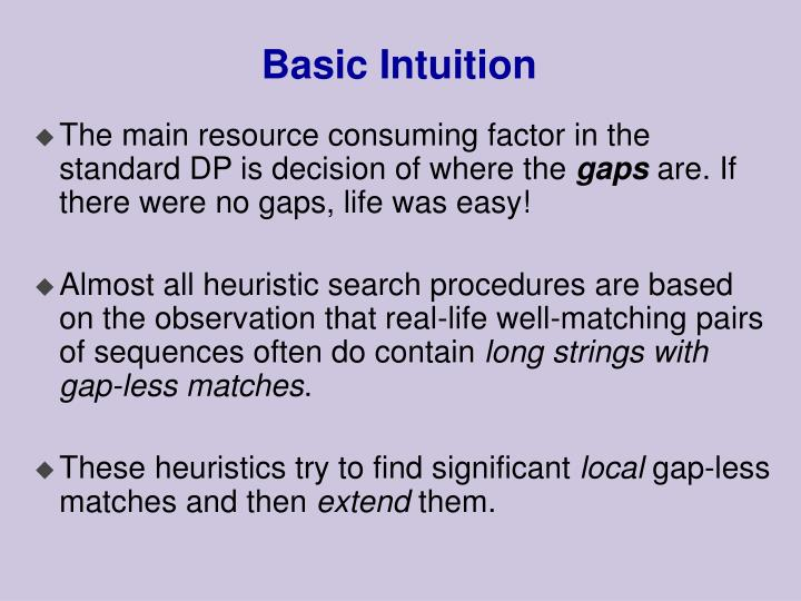 Basic Intuition