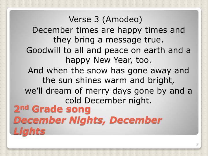 Verse 3 (Amodeo)