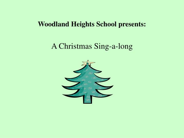 Woodland heights school presents