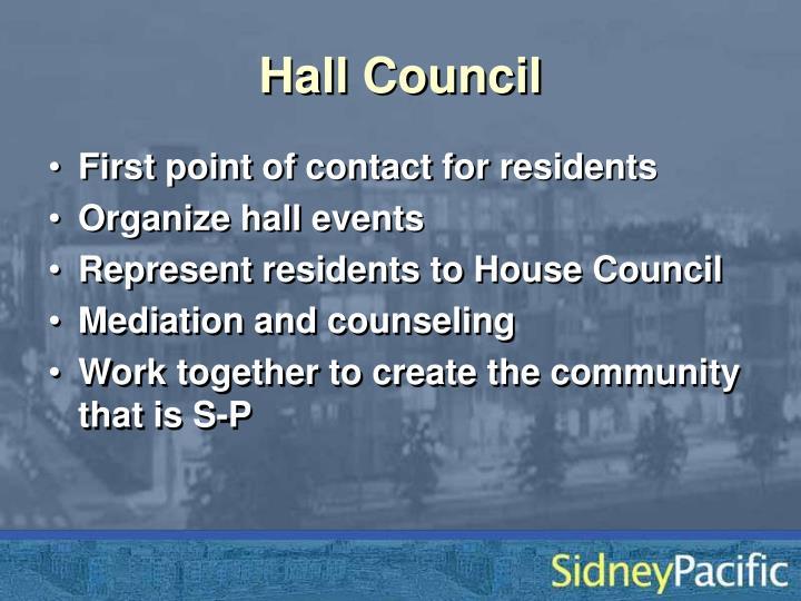 Hall Council