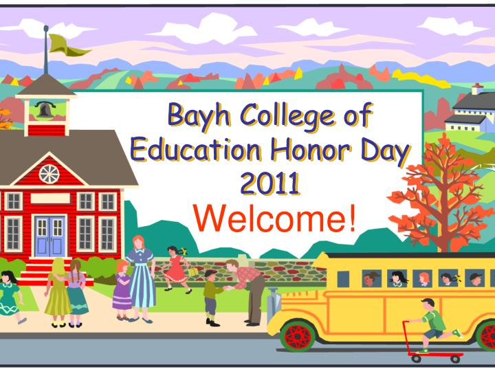 Bayh college of education honor day 2011