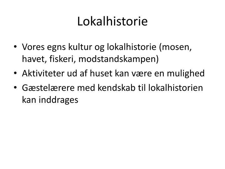 Lokalhistorie