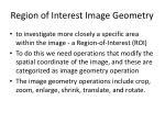 region of interest image geometry