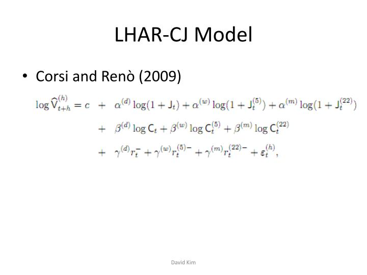LHAR-CJ Model