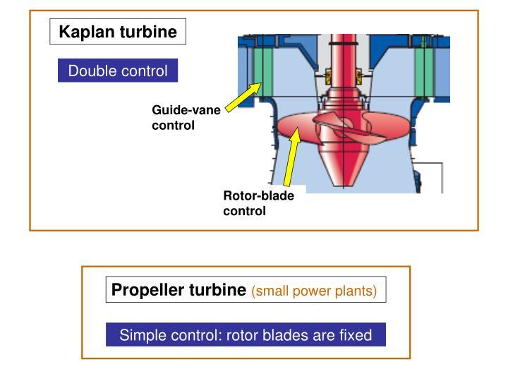 Propeller turbine