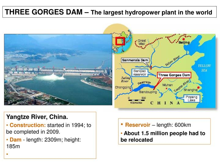 THREE GORGES DAM –