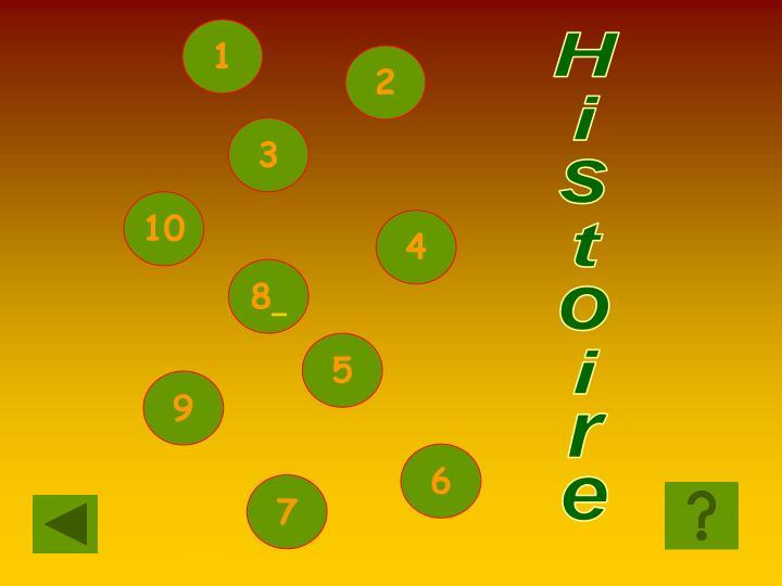 SCELTA HISTOIRE