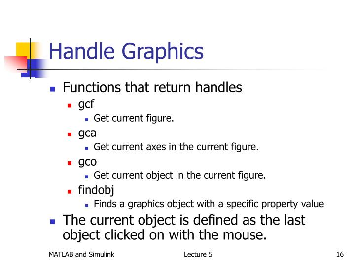 Handle Graphics