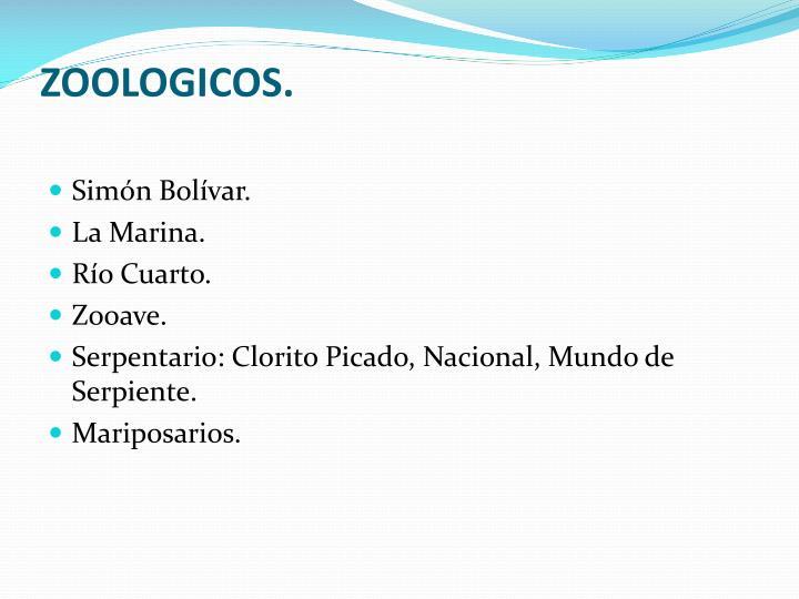 ZOOLOGICOS.