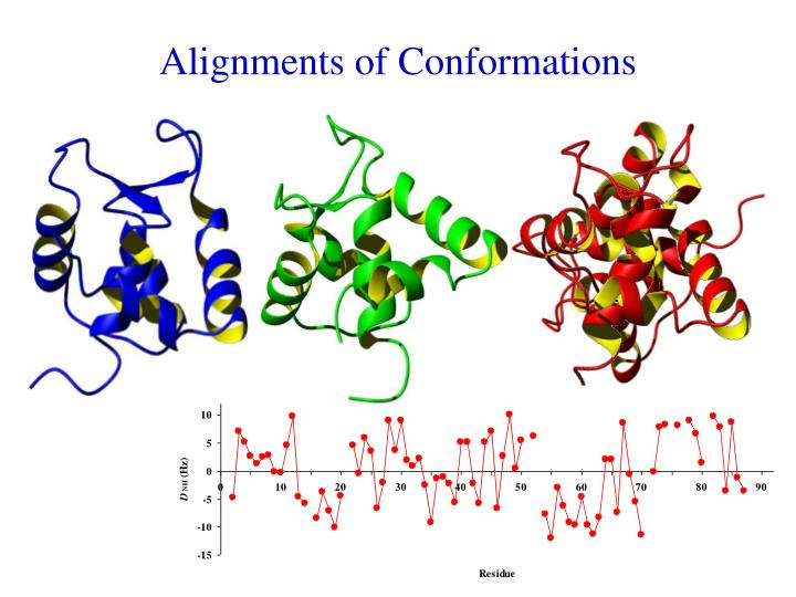 Alignments of Conformations