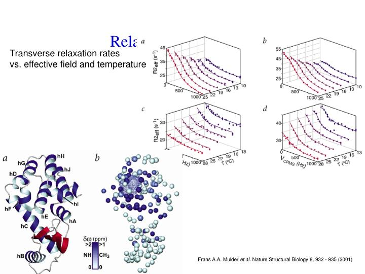 Relaxation Dispersion