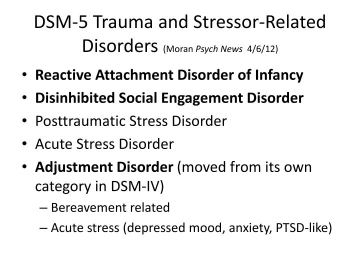 reactive attachment disorder dsm 5 pdf