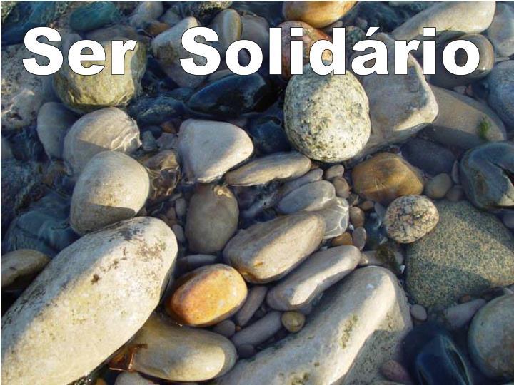 Ser  Solidário