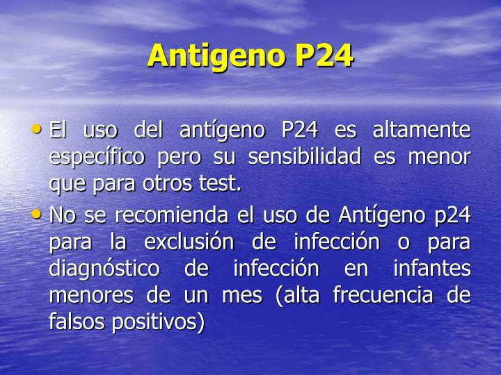 Antigeno P24