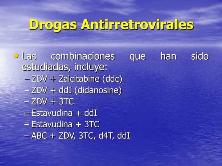 Drogas Antirretrovirales