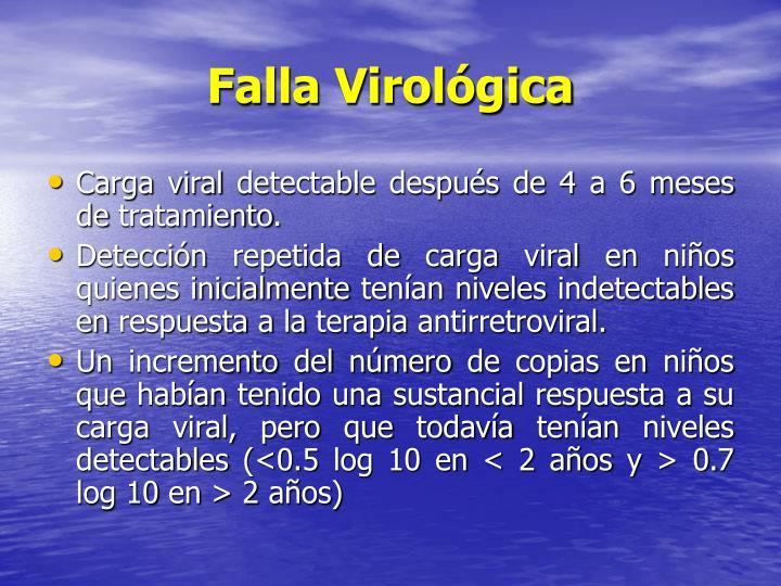 Falla Virológica