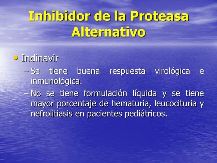 Inhibidor de la Proteasa Alternativo