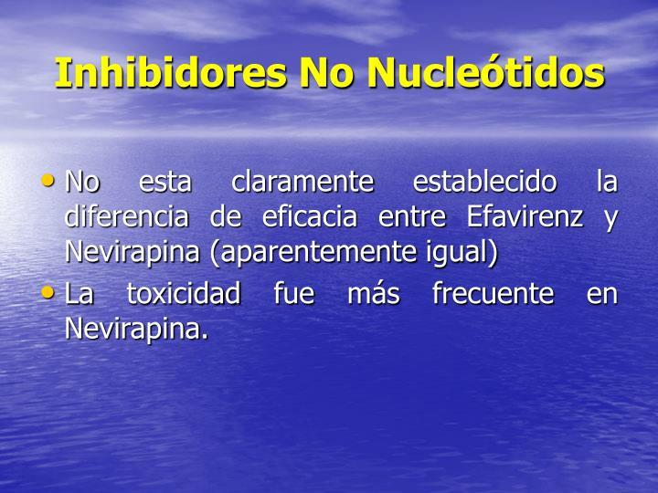 Inhibidores No Nucleótidos