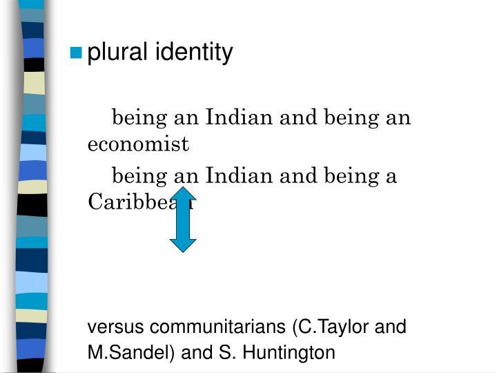 plural identity