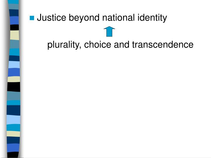 Justice beyond national identity