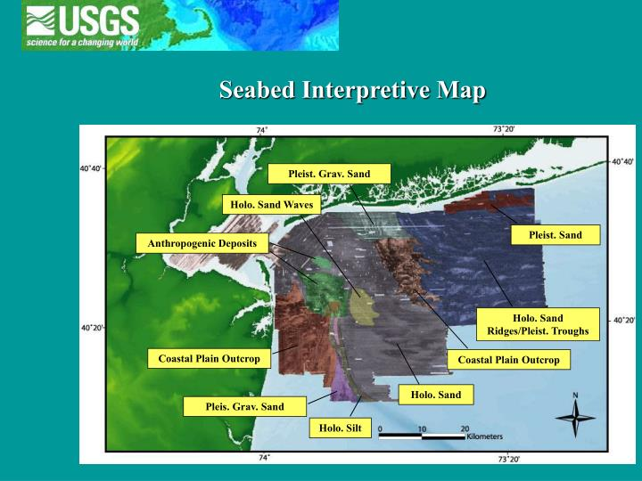 Seabed Interpretive Map