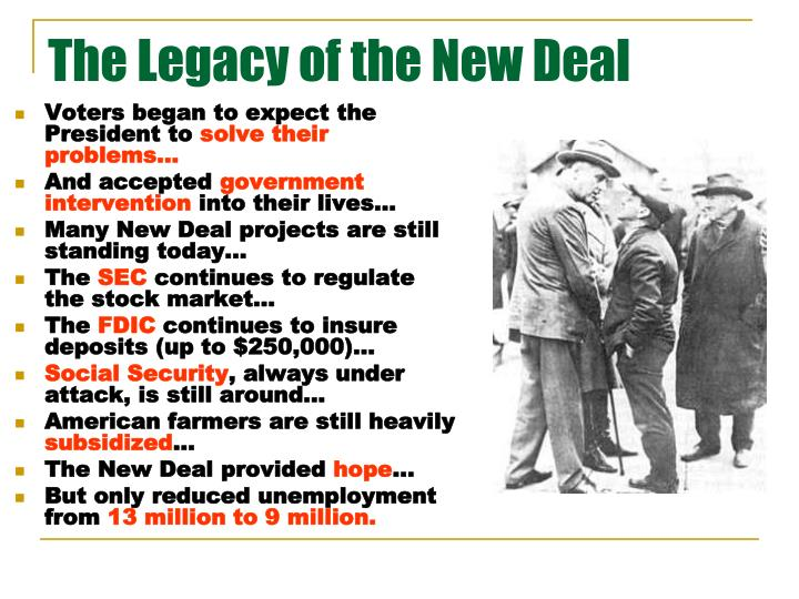 What was new about the New Deal?