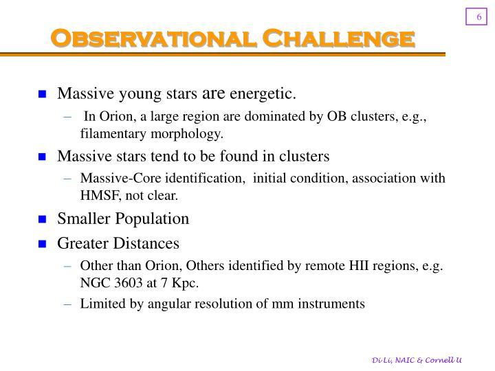 Observational Challenge