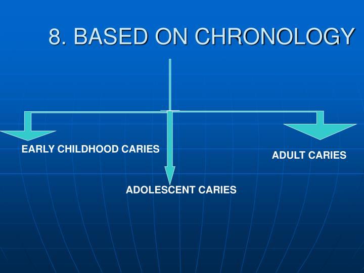 8. BASED ON CHRONOLOGY