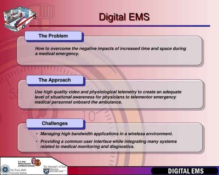 Digital EMS