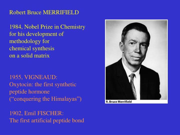 Robert Bruce MERRIFIELD