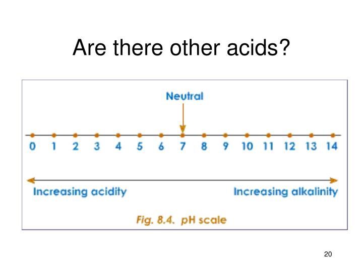 Are there other acids?