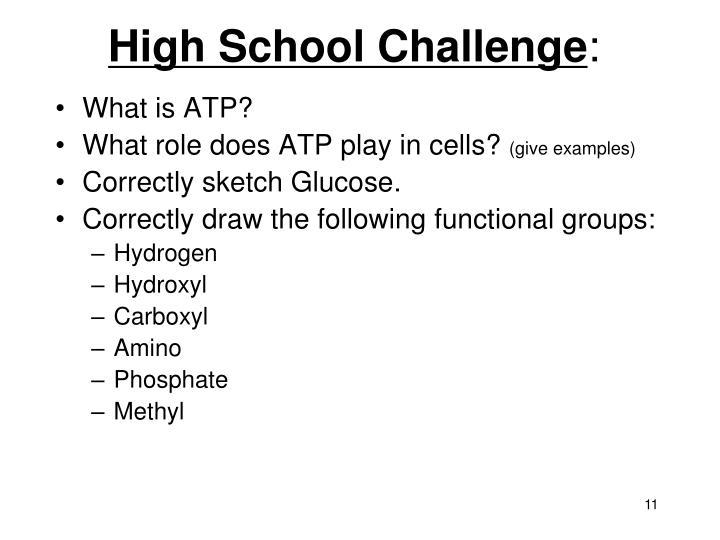 High School Challenge