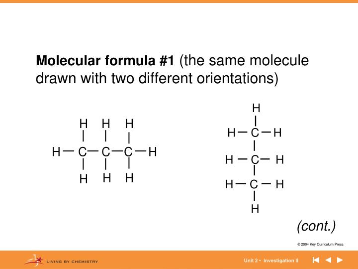 Molecular formula #1