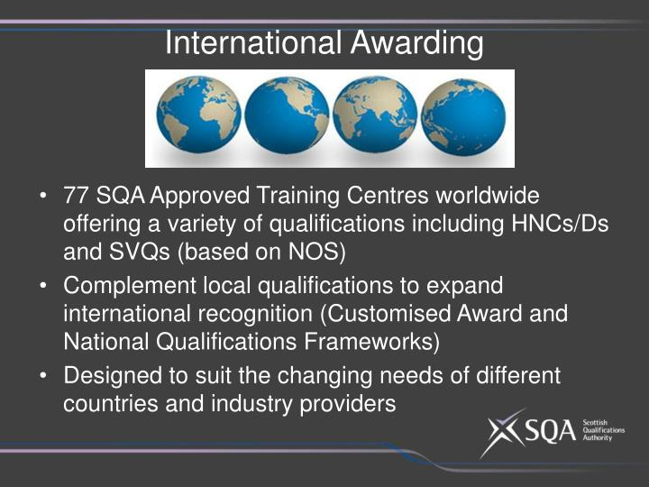 International Awarding