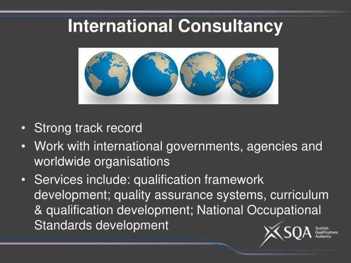International Consultancy