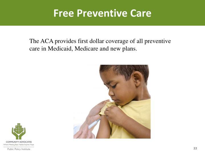 Free Preventive Care
