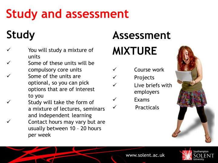 Study and assessment