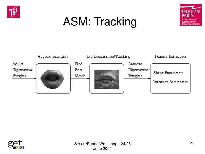 ASM: Tracking