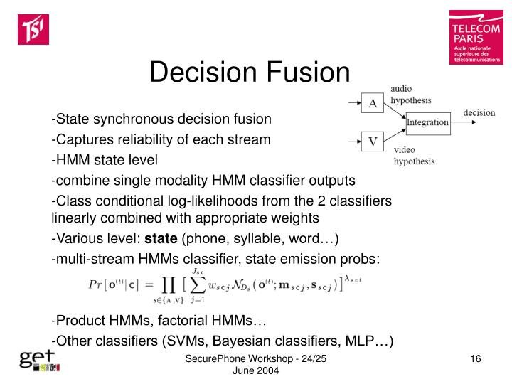 Decision Fusion