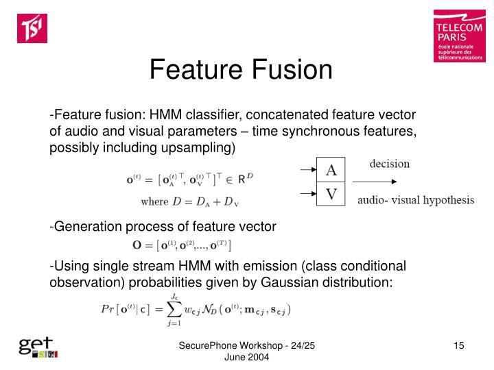 Feature Fusion